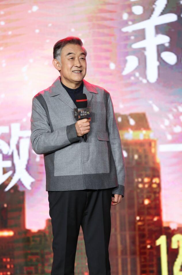 """李建义亮相《亲爱的新年好》首映礼 荧屏又迎""""暖父""""形象"""