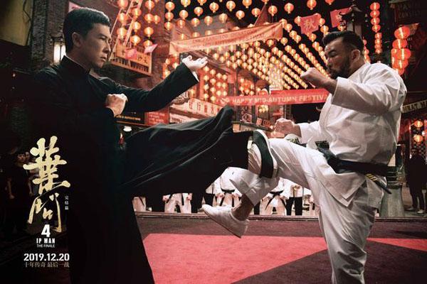 《叶问4》惊现实战派格斗家高战,这部动作片惊喜连连
