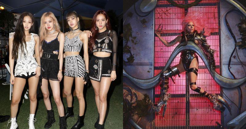 韩女团第一次 BLACKPINK、Lady Gaga 合作曲打入英国官方榜!