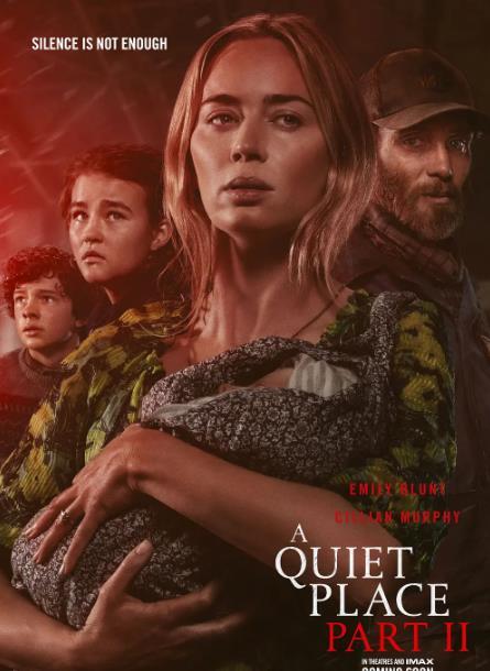 恐怖电影《寂静之地2》再次延期北美延期至2021年4月23日