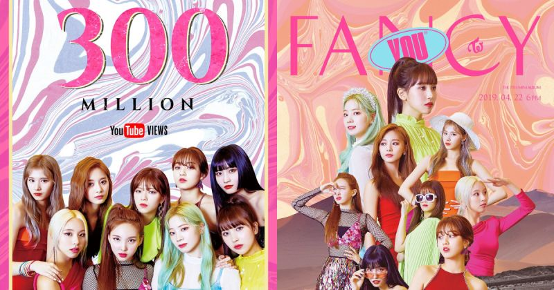 TWICE 回归前夕传好消息〈Fancy〉MV 观看数破三亿!