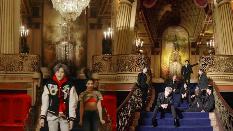 防弹少年团、姜丹尼尔的新歌MV拍摄地在同一个地方LA剧院!