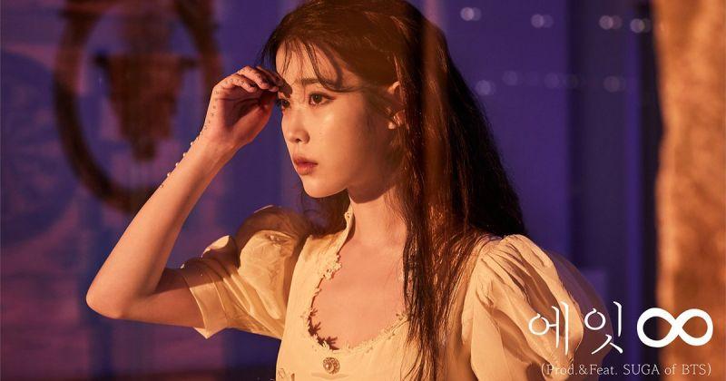 IU × Suga 持续发威〈Eight〉音源、MV 成绩都耀眼!