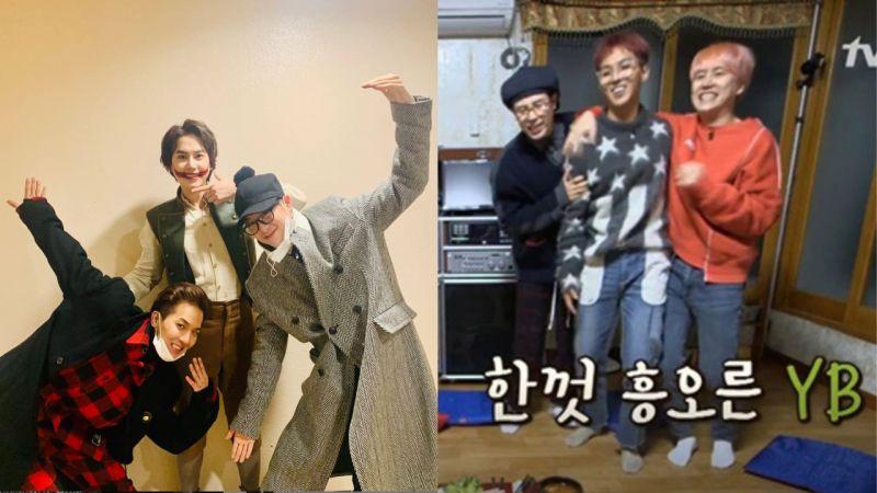 《新西游记》YB组合照!宋旻浩、P.O一起去看曹圭贤的音乐剧