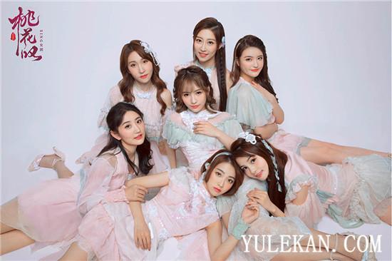 SING女团全新单曲《桃花叹》上线 电子国风演绎少女思恋