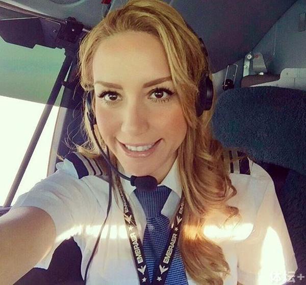 揭秘C罗私人飞机女飞行员:长得美 技术更棒