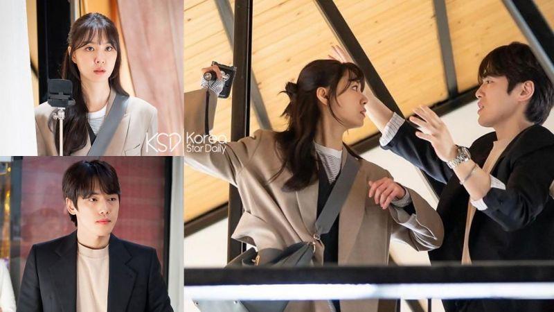 金正贤客串Seo Ji-Hye新剧《一起吃晚餐吗》出道当男朋友~