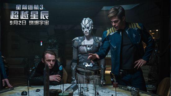 《星际迷航3》中国特别曝光柯克船长有危险
