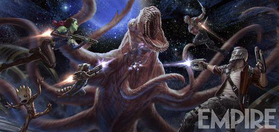 《银护2》曝光视觉概念图外星人反派像章鱼