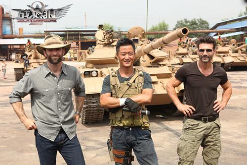 吴京重拍《战狼2》锁定8亿票房