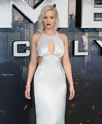 2016年片酬最高女演员劳伦斯在《范冰冰》中获得第五名
