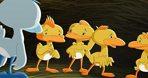 《丑小鸭历险记》曝先导预告 机器鸭为梦想努力