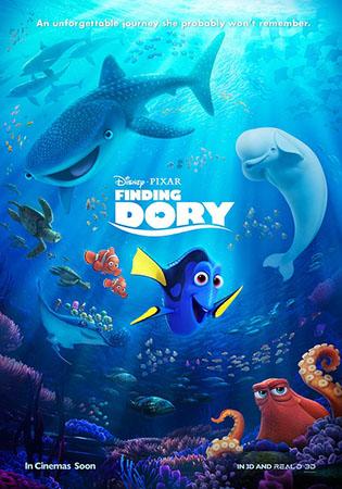 0613-0619北美票房 《海底总动员2》1-36亿登顶