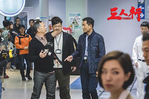 《三人行》《枪火》版点赞电影杜琪峰回归警匪