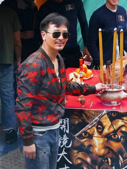 """《狂兽》开机 吴樾张晋开启高手间的""""对决"""""""