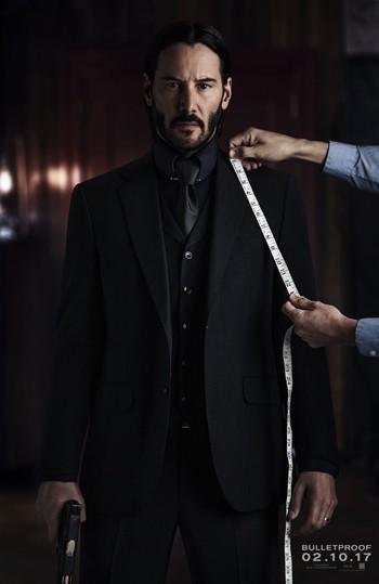 《疾速追杀2》曝新宣传照 里维斯持枪表情凝重