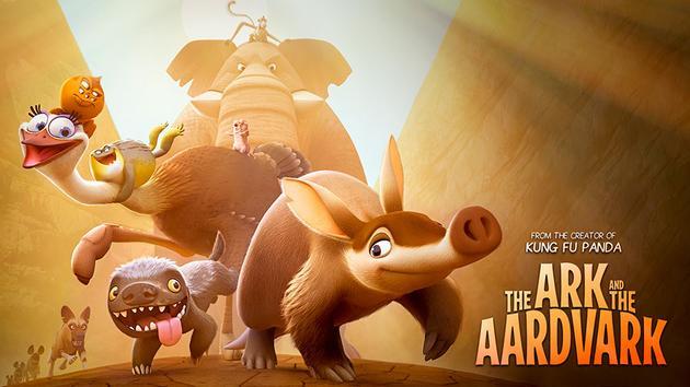 迈尔斯-泰勒献声动画片《方舟与土豚》