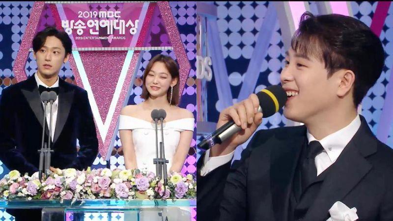【MBC演艺大赏】李到晛问美娜:「P.O跟我~你会选谁?」