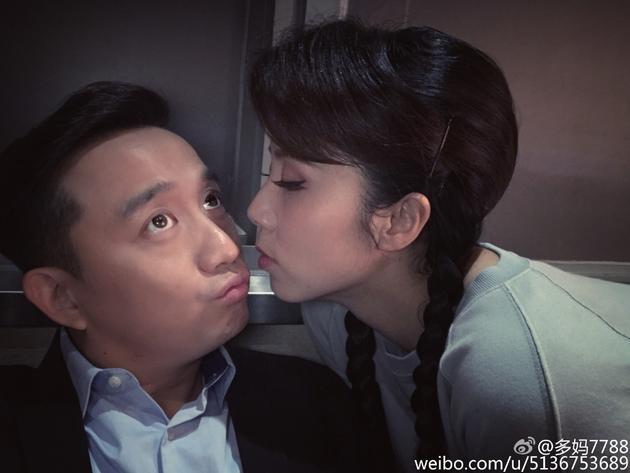 孙莉陪黄磊过第22个生日 恩爱甜蜜欲接吻