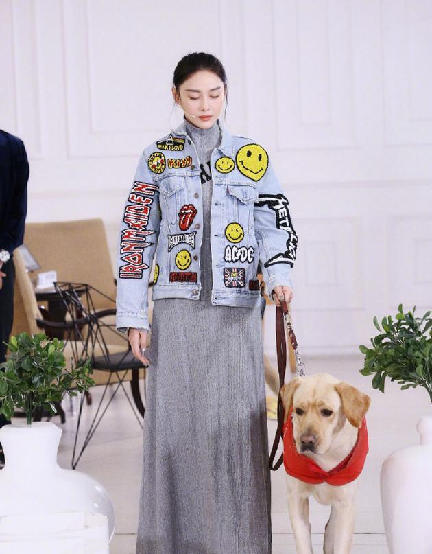 张馨予为导盲犬发声:它们很乖 请大家多一点善意