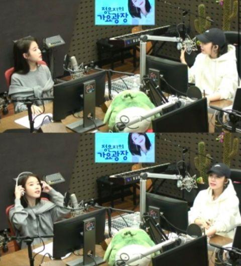 郑恩地&IU:我们是养生姐妹!IU吃一个苹果要多久?
