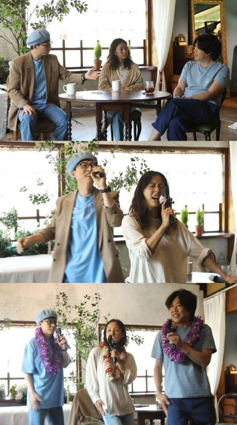 《玩什么好呢?》刘在锡携手「夏日女神」李孝利挑战混声舞蹈团体!