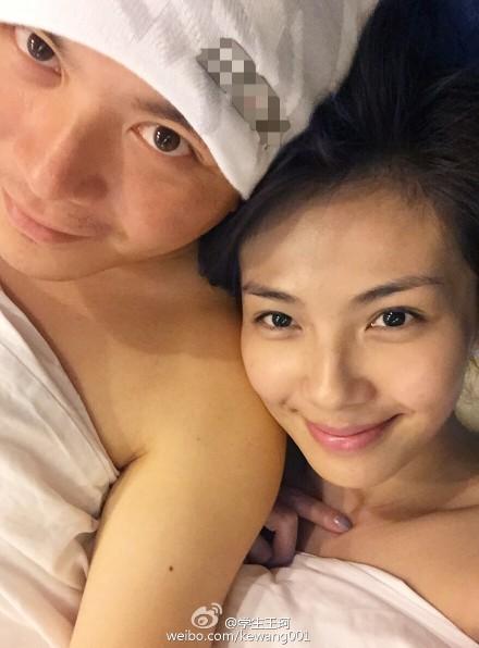 终于落实夫妻生活!刘涛和老公晒羞羞床照