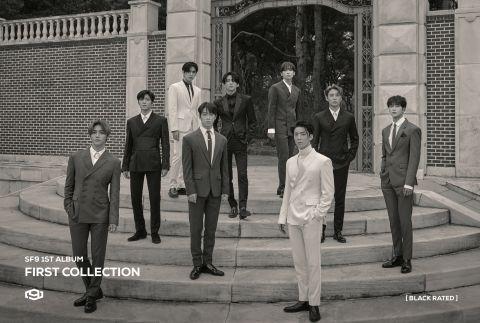 SF9 长大了!首张正规专辑概念照散发成熟魅力