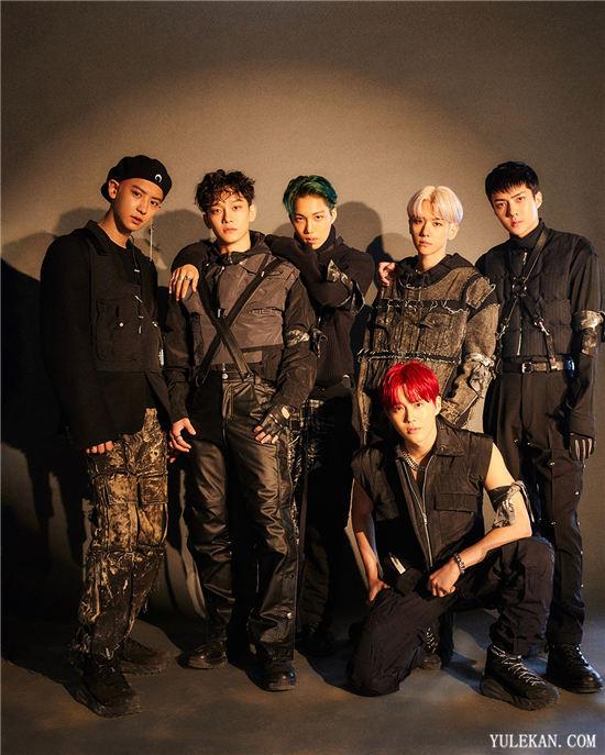 EXO正规6辑《OBSESSION》连续2个月夺得专辑月榜第一!