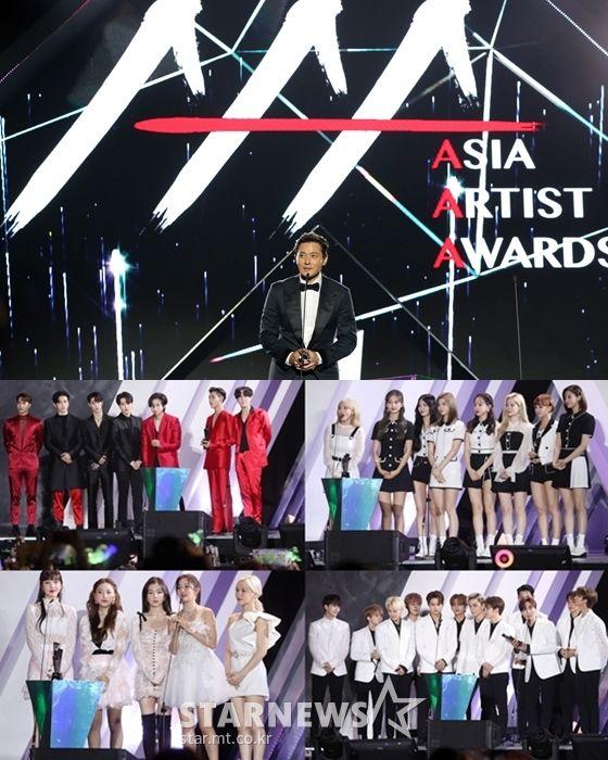 《2019 ASIA ARTIST AWARDS》得奖名单、表演影片