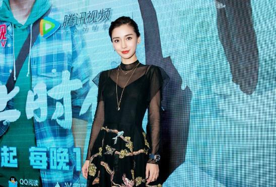 《创业时代》东方卫视开播发布会 Angelababy变身职场投资师那蓝