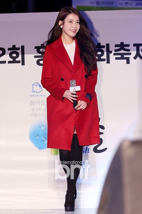 韩星IU登湖南春晚 成唯一被邀韩国女歌手