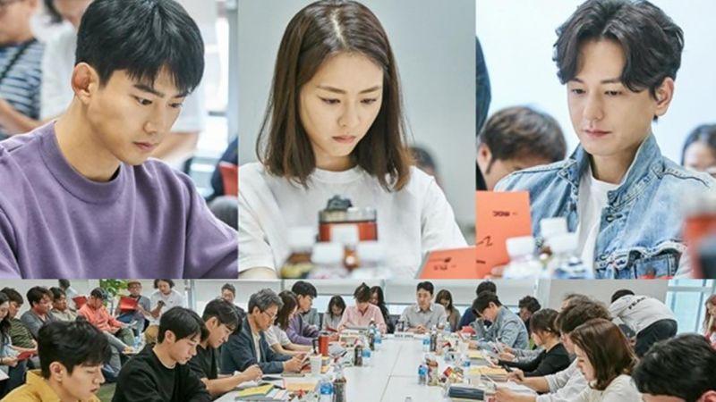 新剧《THE GAME:向著零时》玉泽演、李沇熹、林周焕台词排练照公开!