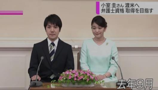 日本真子公主婚期推迟 未婚夫将赴美留学