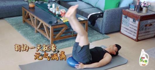 黄晓明为角色吃草健身速瘦,网友:求健身教程