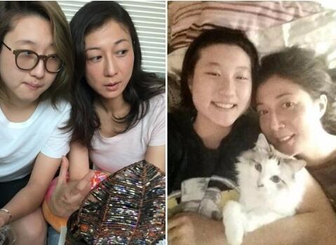 吴绮莉叹女儿像自己:自己的十七岁 也是任性的