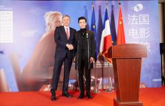 连摘金鸡、百花后黄晓明再获法国骑士勋章 以大使身份揭幕法国影展