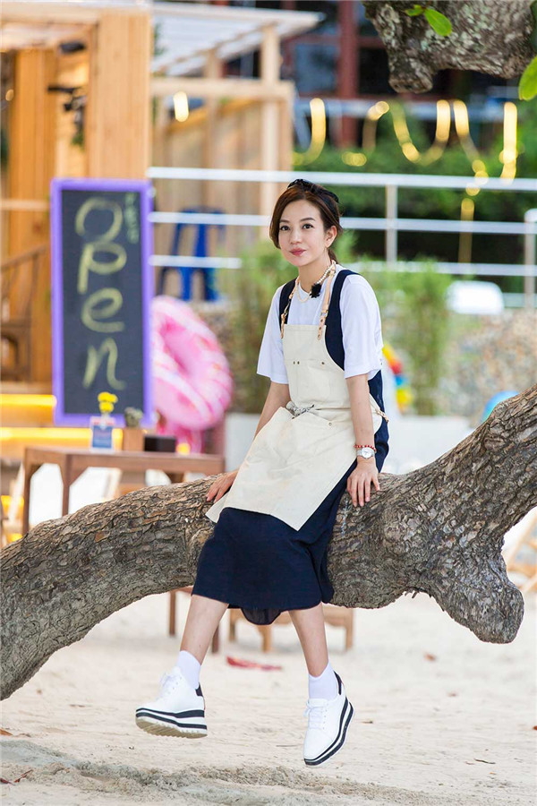 《中餐厅》赵薇被泰国粉丝表白
