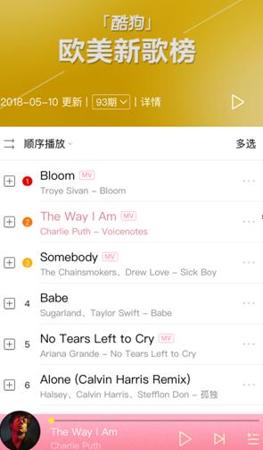 【美天棋牌】断眉Charlie Puth酷狗上线 夺欧美新歌榜TOP2