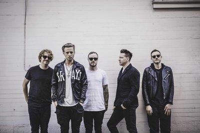 顶级摇滚乐团OneRepublic全球巡演上海开唱