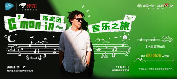 陈奕迅为何选腾讯平台技术赋能头部内容