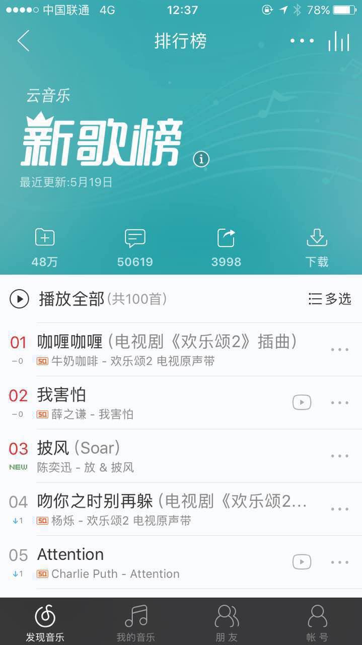 杨宗纬唱《欢乐颂2》主题曲网易云上线