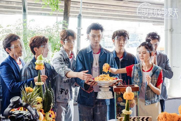 【蜗牛棋牌】青春偶像剧《时光分岔的夏天》开机 打造超高颜值偶像养成记