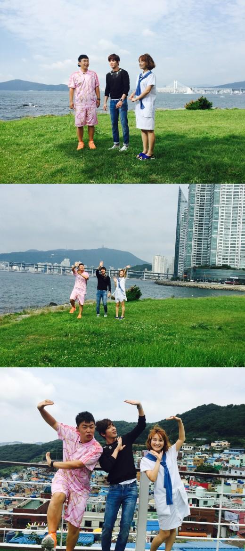 郑容和再次出演《快乐大本营》 介绍釜山美景