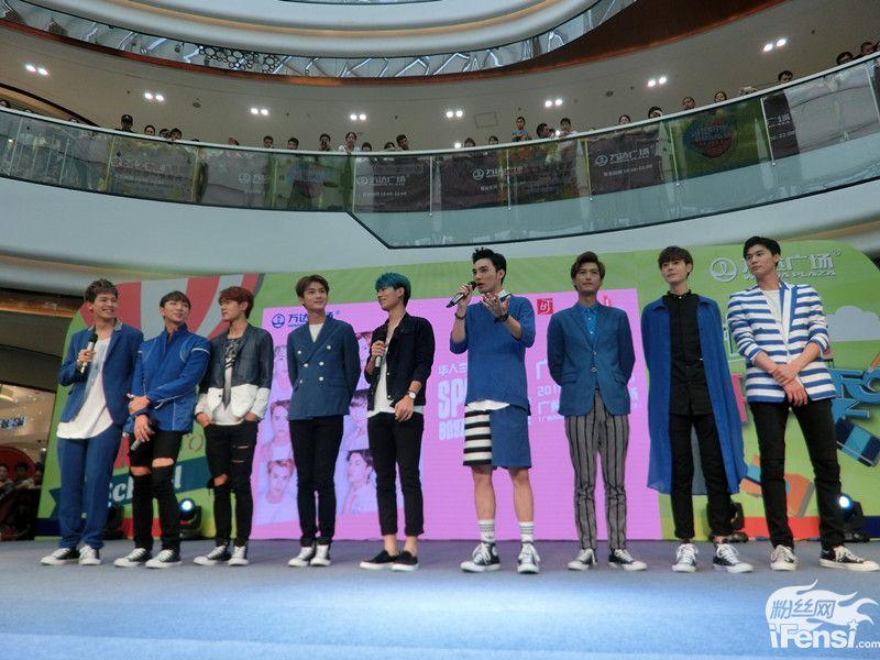 spexial广州宣传新专辑 成员互呛趣味十足