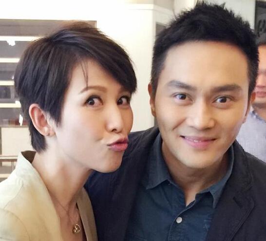 蔡少芬为张智霖庆生献吻 网友:晋哥吃醋了