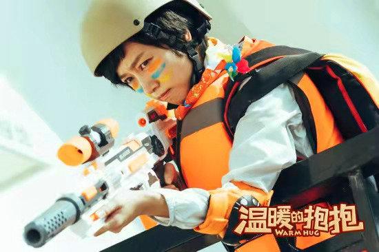 陈浩明参加了《温暖的抱抱》治疗表演 赢得了眼球