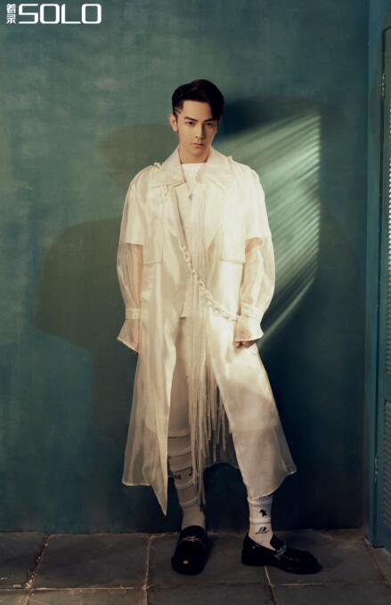 汪东城亮相杂志拍摄,《着录SOLO》打造时尚质感