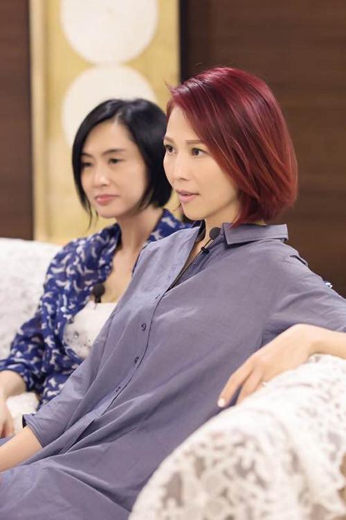光辉平台主管《偶像来了》好姐妹蔡少芬朱茵聚首感慨多