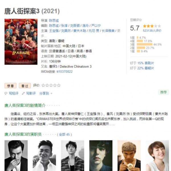 粉丝让陈思诚客串被狂揍角色 本尊:《唐探4》安排